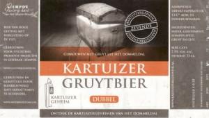 etiket_Kartuizer_Gruytbier_Dubbel